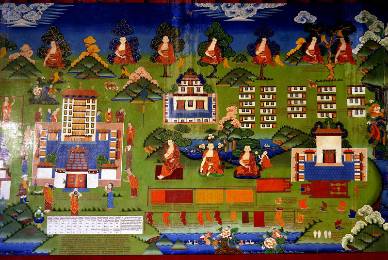 Wall painting Lamayuru