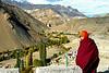 Monk at Lamayuru monastery, Ladakh