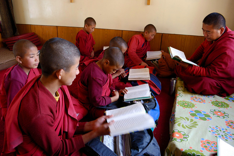 Monastery school. Likir