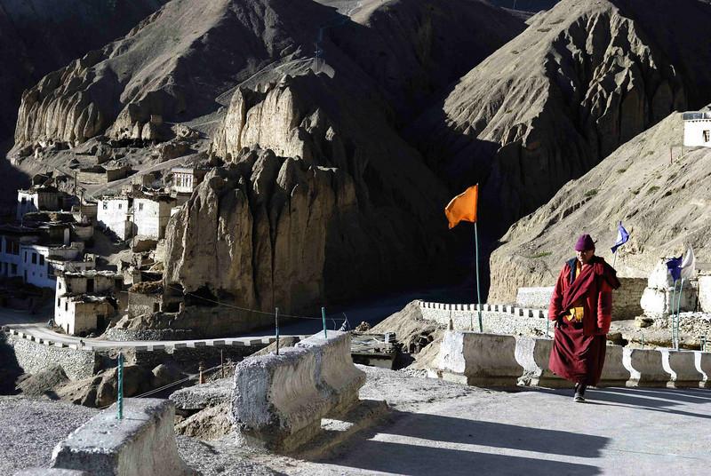 Monk at Lamayuru