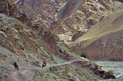 The trail from Chogdo to Shang Sumdo on the last day