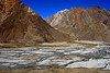 The Shyok river below the Pensi la pass as seen from the road to Kargil from Padum
