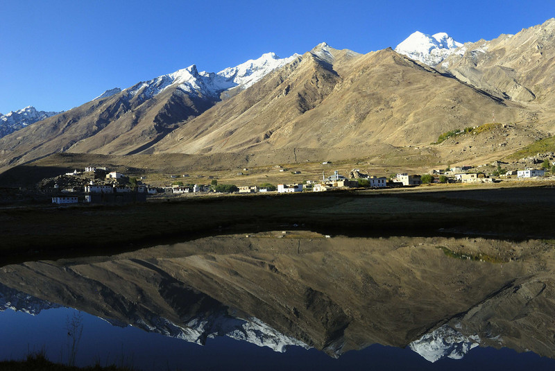 The headquarters of Zanskar, Padum