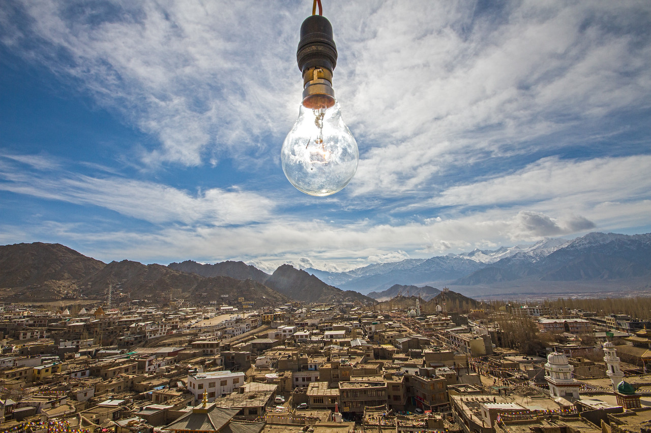 Lighting up the Roof of the World
