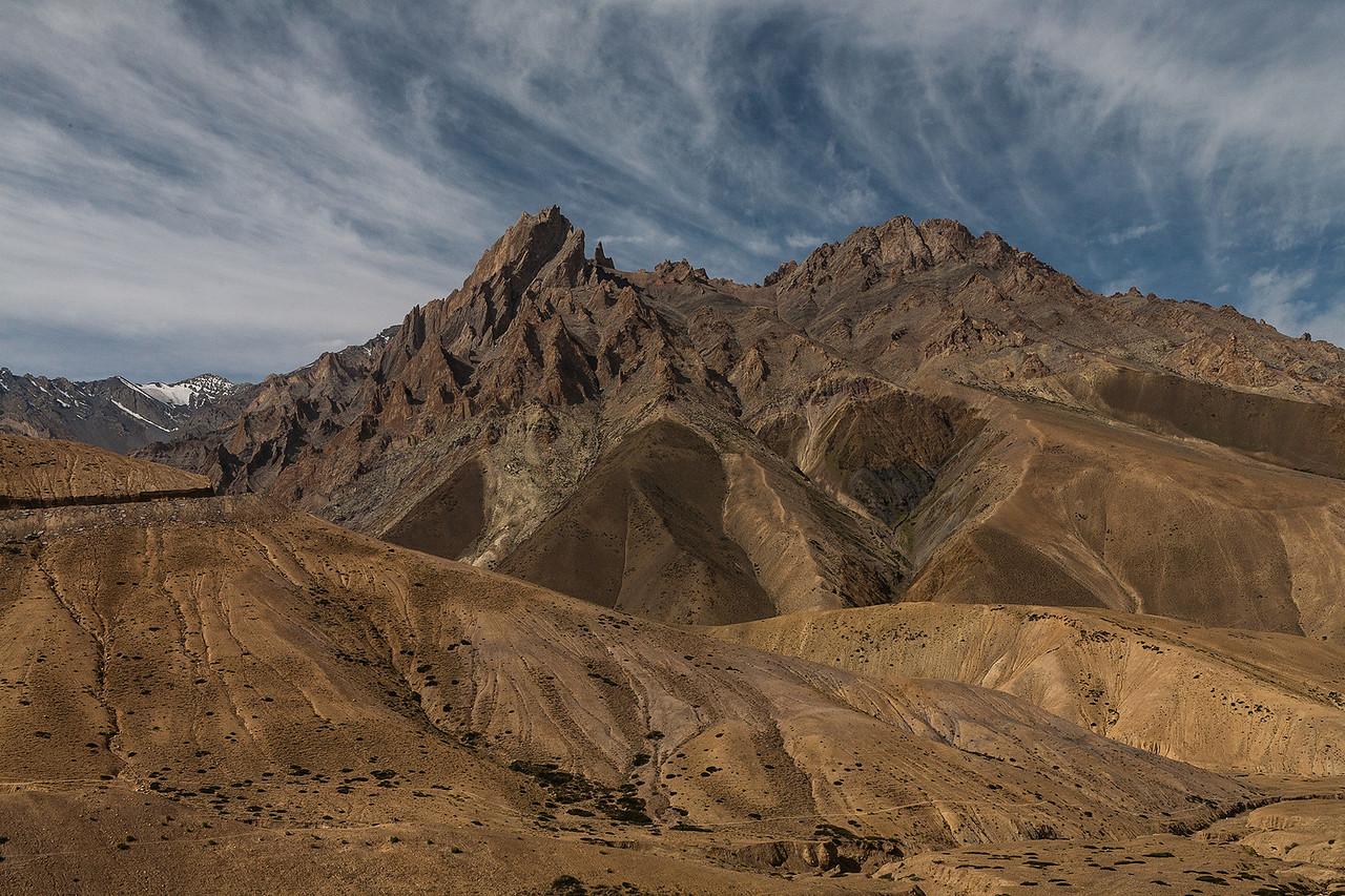 Foto la or Fotu La on Srinagar - Leh highway, Ladakh, India