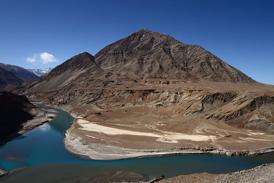 Sangam - where Indus meets Zanskar...