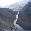 the Indus river, west of Leh