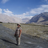 on the hike between Hunder and Diskit, in the Nubra valley