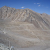 the road leading to Khardung-la