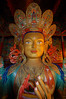 Buddha at the Thiksey gompa.