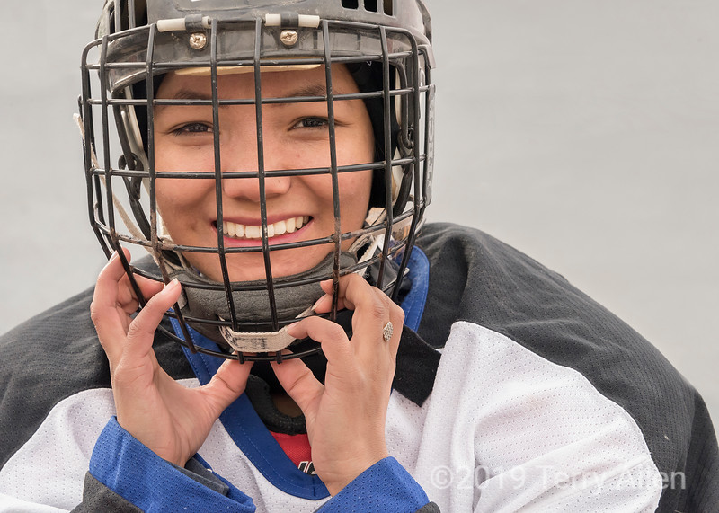 Indian woman hockey player