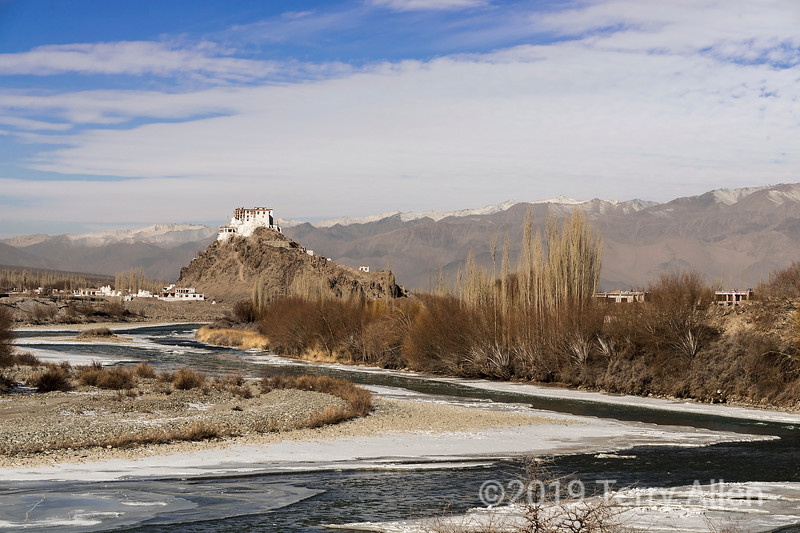 Stakna Monastery above the Indus River, Ladakh, India