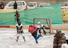 Shot on goal, Ladakh women's hockey team, 5th Hai Hockey Championship, Leh, Ladakh