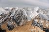 Hemis National Park from the air, near Leh, Ladakh