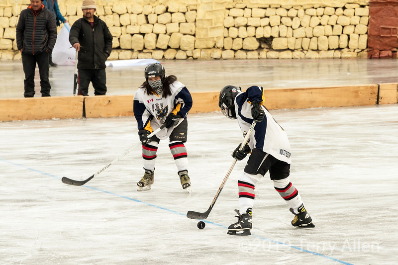 Stick handling, Ladakh women's hockey team, 5th Hai Hockey Championship, Leh, Ladakh