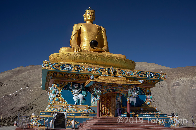 Seated Gautama Buddha, Stok Gompa, Ladakh