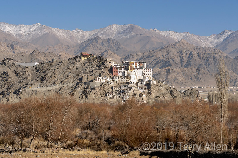 Spituk Gompa above the Indus River, Leh, Ladakh