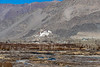 Indus River valley looking towards Spituk Gompa, Leh, Ladakh