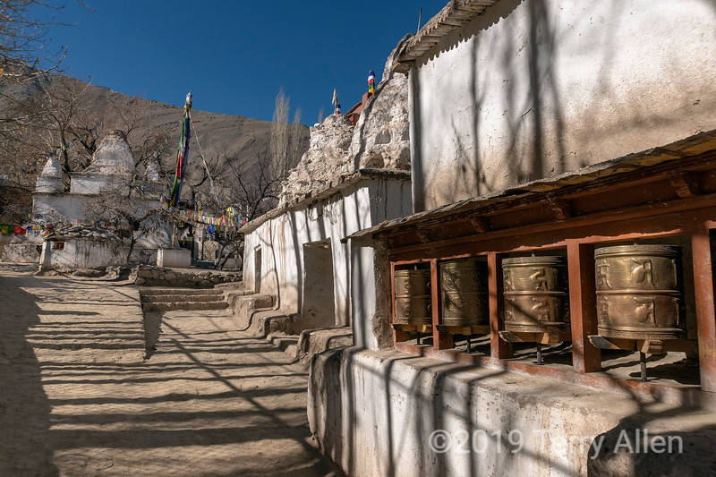 Alchi Choskhor in winter