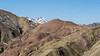 Zaskar Range with high snow-covered peak, near Hemis Shokpachan, Ladakh