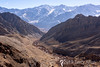 Ulley road, small stream and Ladakh Range, Ladakh, Jammu and Kashmir