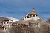 Golden Buddha and monastery, Hemis Shukpachn, Ladakh