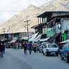 Kargil's main street is booming compared to anything we'd seen in weeks