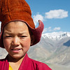 Novice monk of Karsha Gompa
