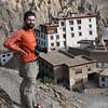 Yann above Lamaruyu Monastery