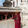 Prayers at Lamaruyu Monastery