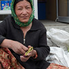Vegetable vendor on the streets of Leh