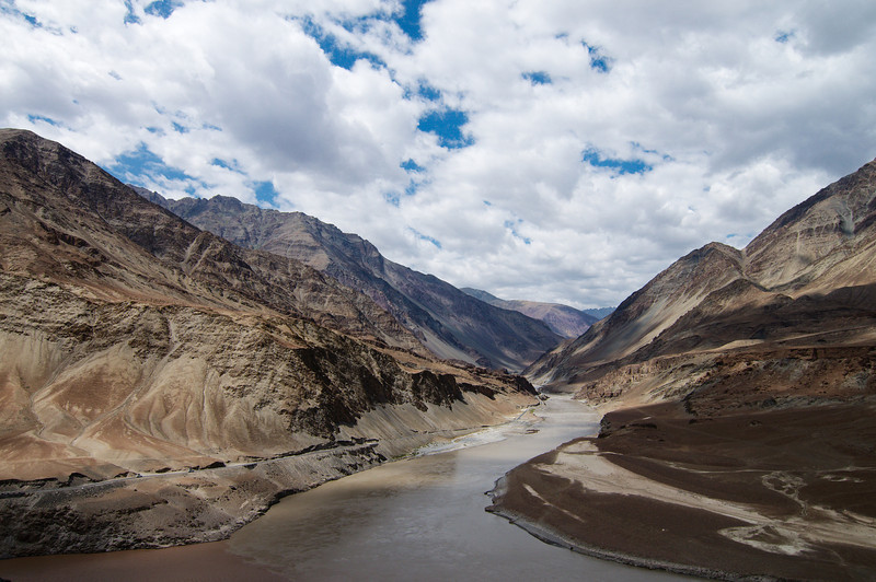 Following the Indus River Valley into Leh
