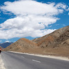 Approaching Leh on the NH1