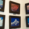 Some of Russian painter Nikolai Roerich's work on display at his gallery