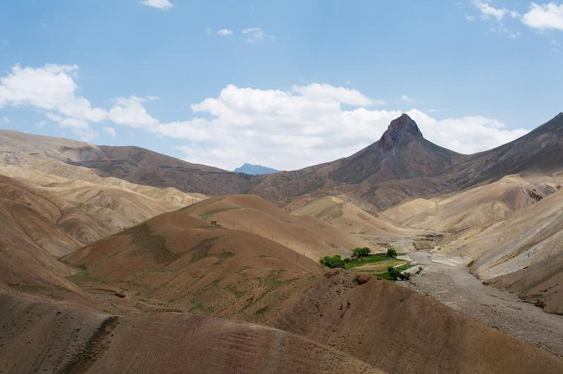 View as we ascend Namika La
