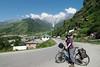 Cycling between Manali and Kothi