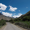 Main road through the Suru Valley, we had to keep turning around to get the views of Nun Kun peaks