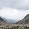 Villagers stopping at the tea stall on the way from Zanskar to Manali
