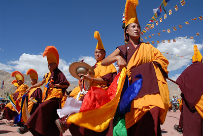 Festivities for the 800-year anniversary of a monastery in Ladakh India.