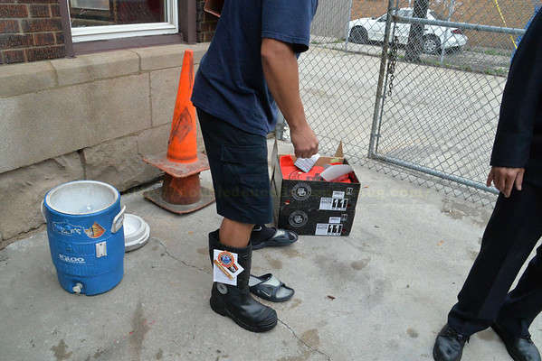 Ladder 22, Engine 34 receive new boots