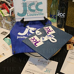 Silent auction items included this JCC gift package.