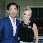 Dr. Nana Mizuguchi and member of the Board of Directors Donna Barton Brothers.