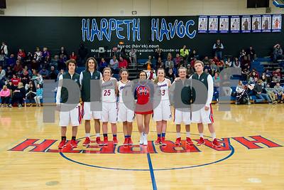 Harpeth Basketball Senior Night