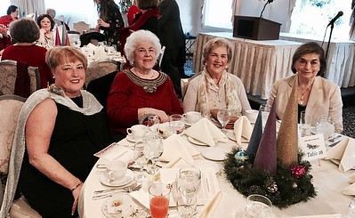 From left, Jill Laganas of Seabrook, N.H., Elaine Lazouris of Lowell, Marianthe Dabekis of Chelmsford, Helene Danas of Lowell