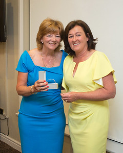 Marjorie Soden a prize winner with Lady Captain Grace