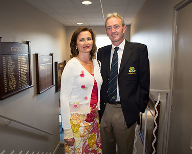 Club President Terence Ryan and wife Noëlle