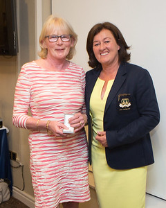 Barbara Fox Mills a prize winner with Lady Captain Grace
