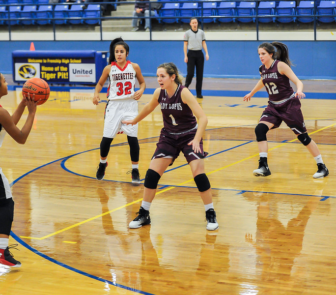 Lady Lopes vs Slaton, Caprock Classic, 12-29-2016