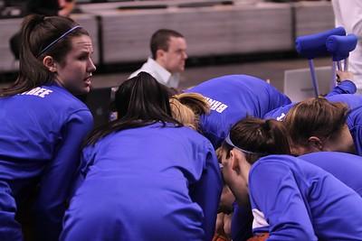 Lady Wamps BB vs Central Catholic at TD Garden 2013