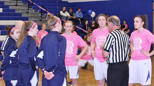 Lady Wamps Basketball Senior Night Feb 2015
